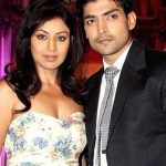 Debina Bonnerjee with her husband
