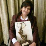 Deepa Malik with Arjuna Award