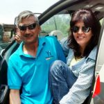 Deepa Malik with her husband Bikram Singh