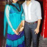 Deepshikha Deshmukh with her husband Dheeraj Deshmukh