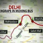 Delhi Gang Rape Bus Route