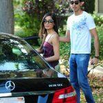Dev Patel with Freida Pinto and Mercedes