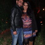 Devangana Kumar with her husband, Amit Tyagi