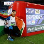 Devendra Jhajharia at the Athens Paralympics