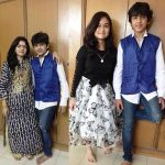 devish-ahuja-with-his-mother-and-sister
