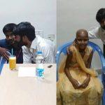Dhanush celebrated his birthday with Kotiswari