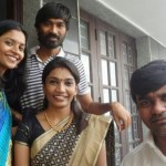 Dhanush with his brother and sisters