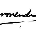 Dharmendra Signature
