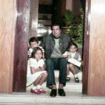 Dharmendra With His Daughters Vijeeta, Ajeeta and Son Bobby