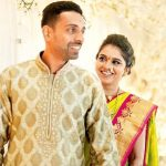 Dhawal Kulkarni with wife Shraddha Kharpude