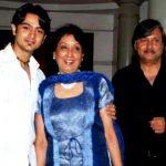 Dhruv Bhandari with his parents