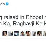 Digvijay tweet Ram and Raghavji
