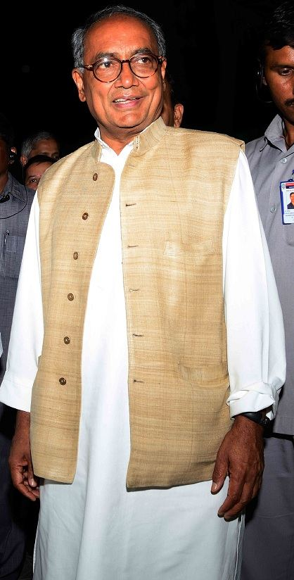 Digvijaya Singh, Indian Politician