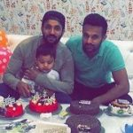 Dilpreet Dhillon with his brother and nephew Zorawar