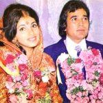 Dimple Kapadia with her husband Rajesh Khanna