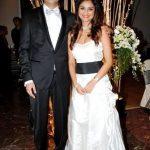 Dimpy Ganguli with her ex-husband Rahul Mahajan