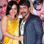 Dinesh Lal Yadav_Nirahua with his wife