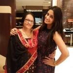 Dipika Kakar with her mother