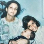 divya-menon-childhood-with-her-mother-and-brother