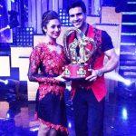 Divyanka Tripathi and Vivek Dahiya - Nach Baliye 8 winners