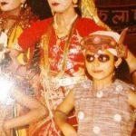 Divyanka Tripathi childhood photo