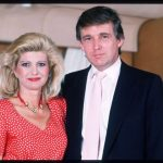 Donald Trump with his 1st wife Ivana Trump