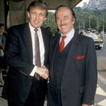 Donald Trump with his brother Fred Trump Jr
