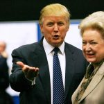 Donald Trump with his sister Maryanne Trump Barry