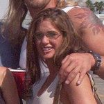 Edge with second wife Lisa Oritz