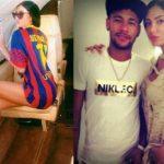 Elisabeth Martinez and Neymar