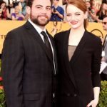 Emma Stone with her brother Spencer