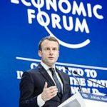 Emmanuel Macron At the World Economic Forum