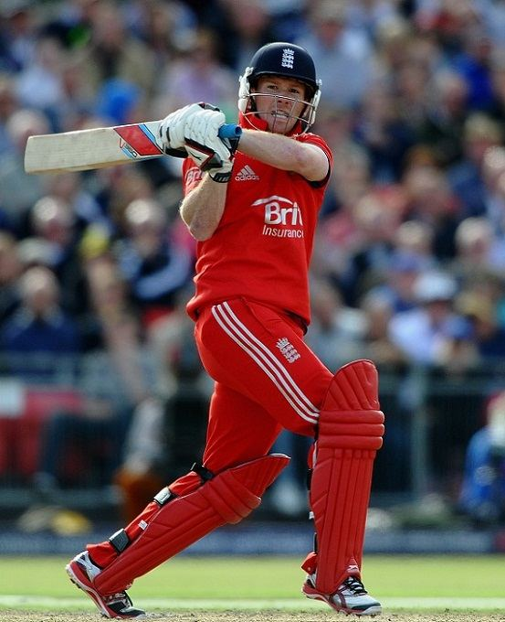 Eoin Morgan English Cricketer Batting