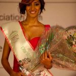 """Erica Fernandes after winning the title of """"Miss Maharashtra 2011"""""""