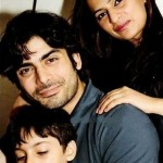 Fawad Khan with his family