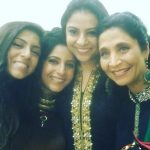 Gaiti Siddiqui with her Sisters