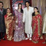 Ganesh Hegde with his family