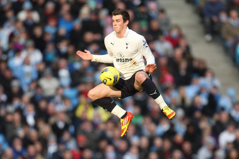 Gareth in action!