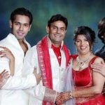 Gaurav Pandey with his family