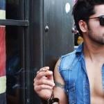 Gautam Gulati Smoking Cigarette