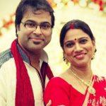 Gayatri Asokan with her second husband