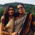 Gayatri Asokan with her mother