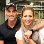 Gemma Atkinson with her boyfriend Oily Foster