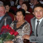Gennady with his Mother