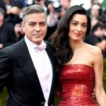 George Clooney with his Ex-girlfriend Amal Alamuddin