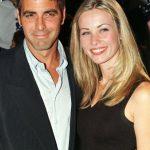 George Clooney with his Ex-girlfriend Celine Balitran