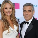 George Clooney with his Ex-girlfriend Stacy Keibler