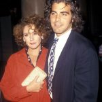 George Clooney with his Ex-wife Talia Balsam
