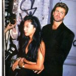 George Michael with Kathy Jeung