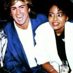 George Michael with Pat Fernandez